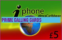 iPHONE AFRICA CARIBBEAN £5